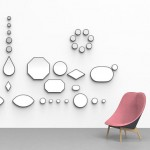 Doshi Levien designs jewel-like mirrors for Hay