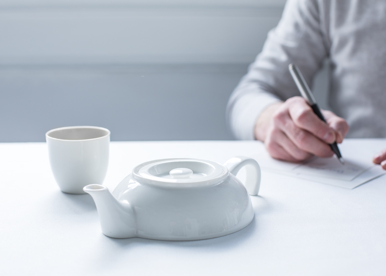 Tea for one by Richard Hutten for Droog, photo by Mo Schalkx