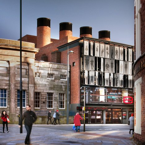 Haworth Tompkins' Liverpool Everyman Theatre built with old and new bricks