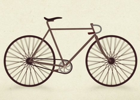 Evolution of the Bicycle by Thallis Vestergaard
