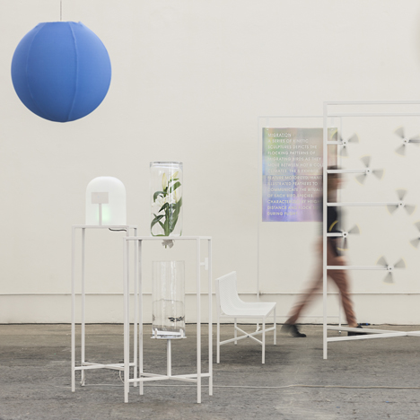 Fabrica researchers explore temperature theme for sensory installation in Milan