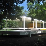 Hydraulic jacks could protect Mies van der Rohe's Farnsworth House from flood danger