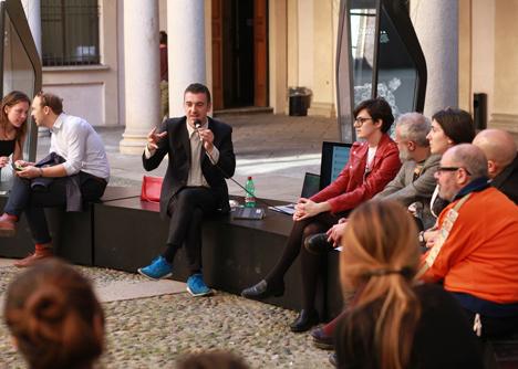 On The Fly talks at Palazzo Clerici