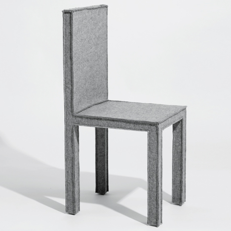 Reed Krakoff creates furniture made from felt for Established & Sons