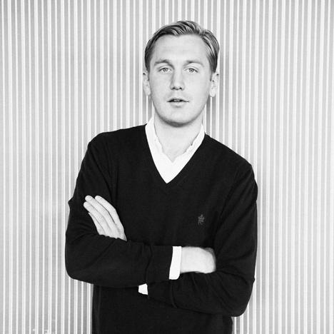 Filip Tysander portrait
