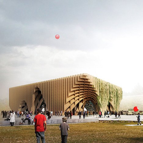 French Pavilion by XTU for Milan Expo 2015