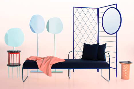 Furniture collection by Vera and Kyte