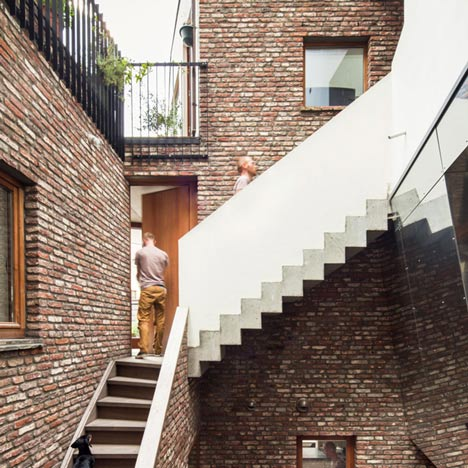 Gewad apartment block by Atelier Vens Vanbelle featur