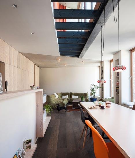 GEWAD apartments by Atelier Vens Vanbelle