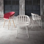 Gaber launches Alessandro Busana's Basket Chair in Milan