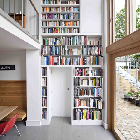 Kilburn Nightingale remodels Hackney<br /> townhouse with sweet-chestnut joinery
