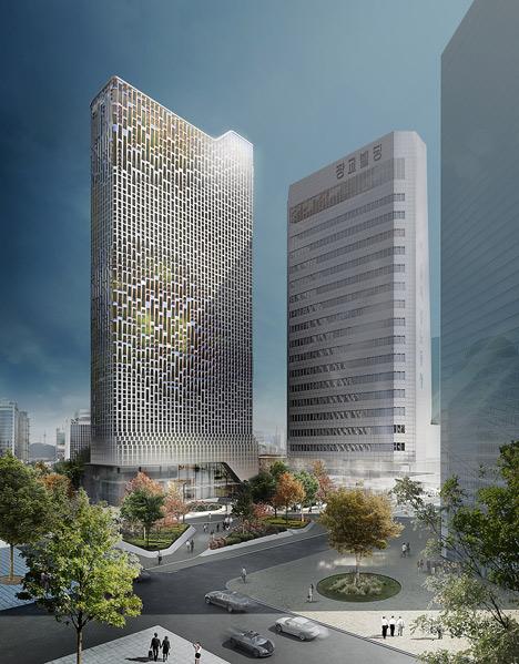 Hanwha HQ Seoul by UNStudio