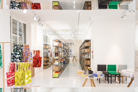 Hay pops up in milan with miniature marketplace for Hay design milano