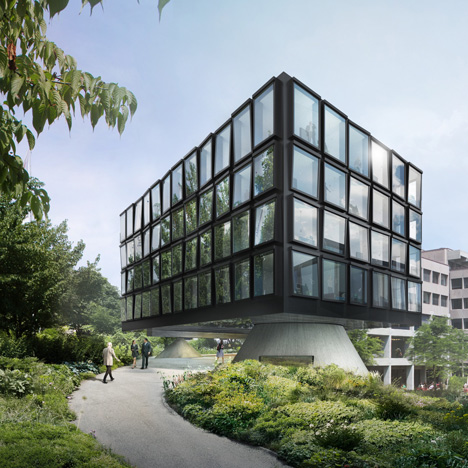 Helvetia Head Office extension by Herzog de Meuron_dezeen_1sq