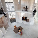 Yamazaki Kentaro's Unfinished House offers little privacy to residents