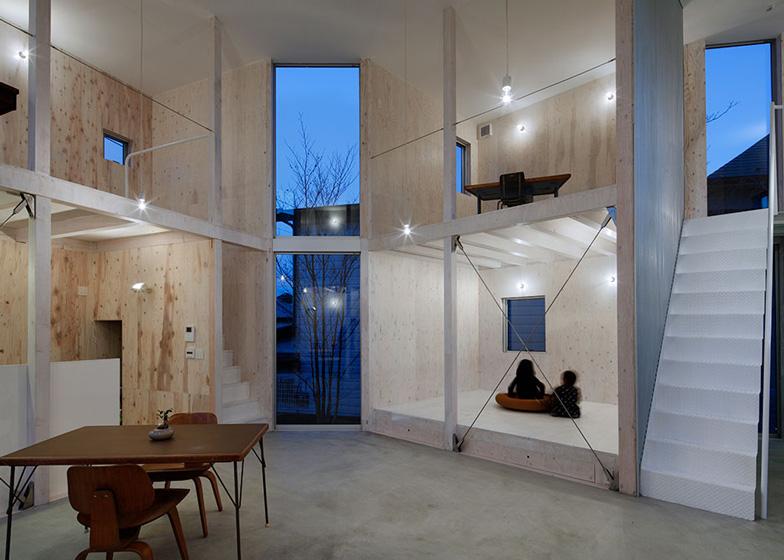 Yamazaki Kentaro\'s Unfinished House offers little privacy to ...