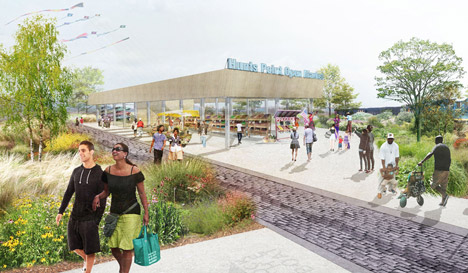 Hunts Point Lifelines by PennDesign and OLIN