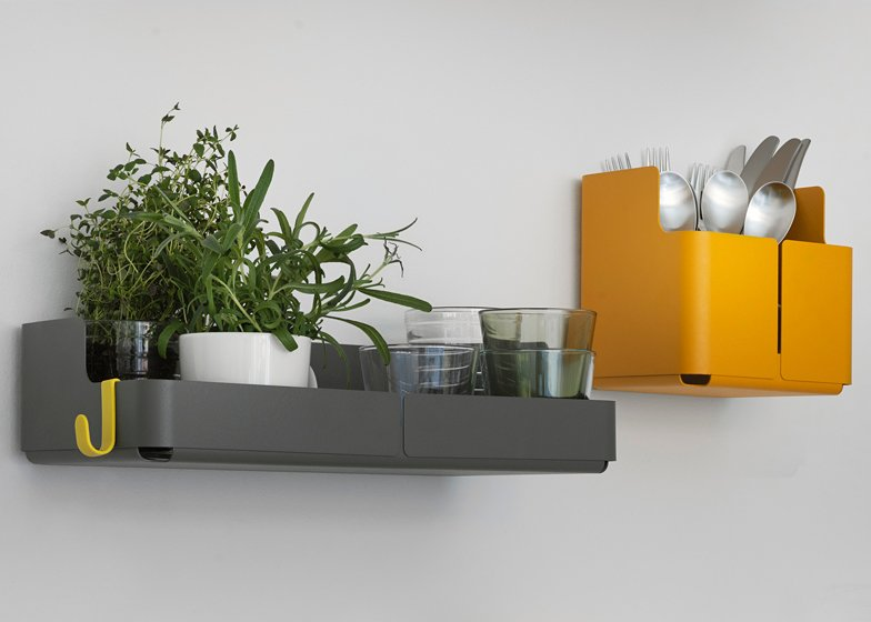 Aitio wall storage by Cecilie Manz