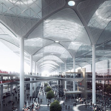 Istanbul Airport by Grimshaw Nordic and Haptic_dezeen_1sq