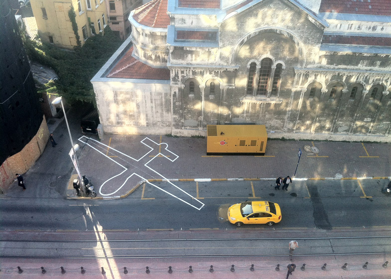 Drone Shadow 002, Istanbul, 2012. Photograph by James Bridle