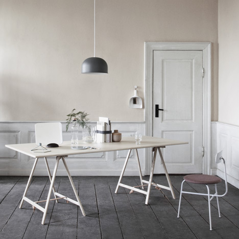 Knot Trestle table by Cecilie Manz for Menu