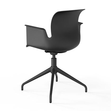 Konstantin Grcic adds armchair to Pro seating collection for Flototto