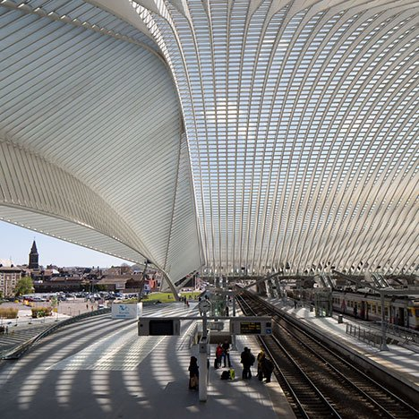 Calatrava's Liège-Guillemins Station captured<br /> in new photographs by Luke Hayes