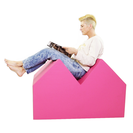 Competition: large house-shaped cushion by MVRDV to be won