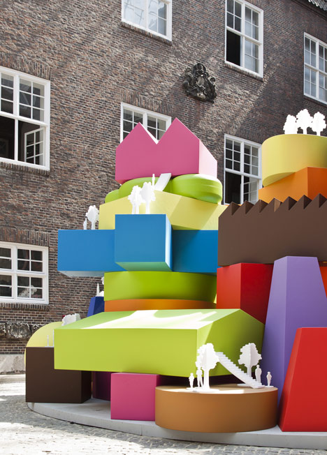 MVRDV competition on Dezeen