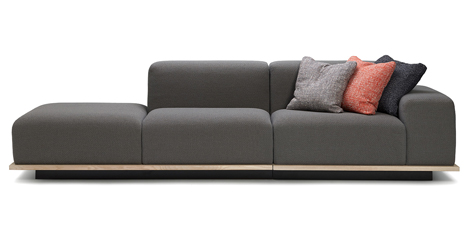 Meet sofa by Fattorini+Rizzini+Partners for Offecct