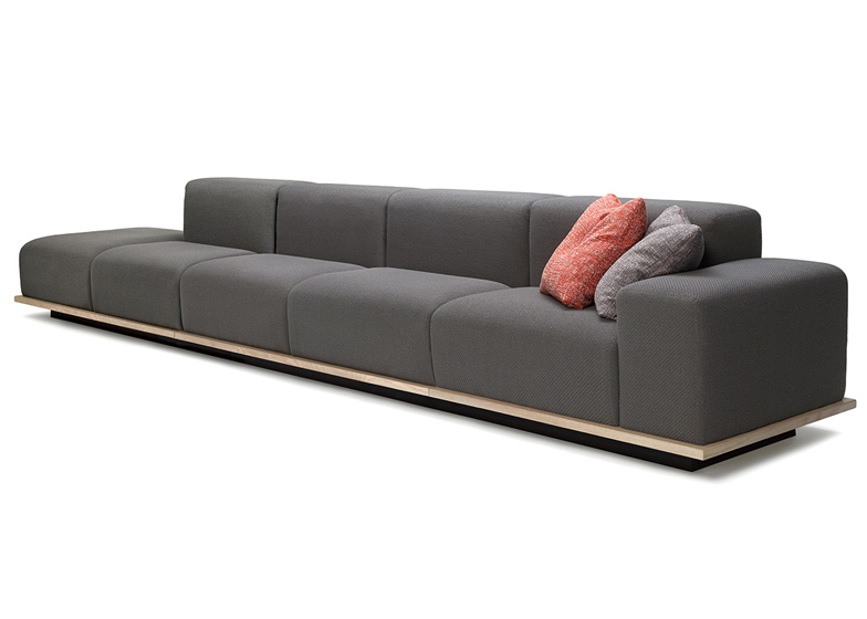 Meet sofa by Fattorini+Rizzini+Partners for Offecct