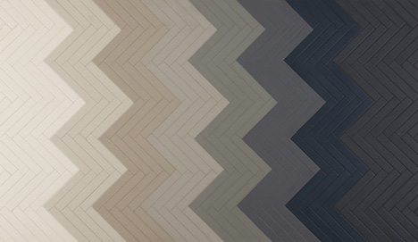 Mews tiles by Barber Osgerby and Mutina for Domus