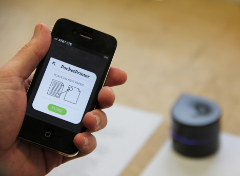 Mini Mobile printer by Zuta Labs