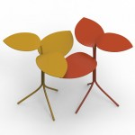Marc Thorpe reimagines garden vine to create steel table