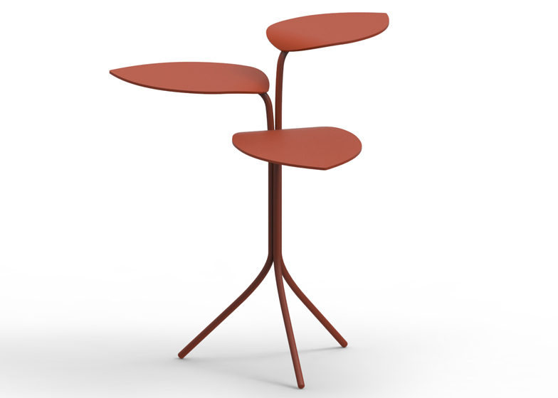 Morning Glory tables by Marc Thorpe for Moroso