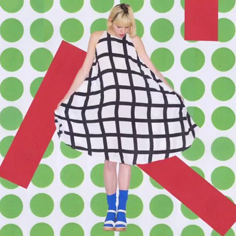 Nathalie Du Pasquier for American Apparel – Postmodernism revival