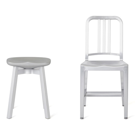 Nendo reimagines the Navy Chair to create