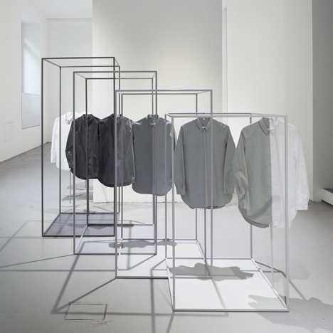 Nendo reframes the white shirt as centrepiece<br /> for COS installation in Milan