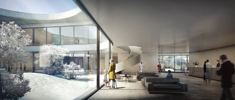 New North Hospital by Herzog & de Meuron
