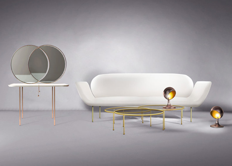 Nika Zupanc furniture collection for Se
