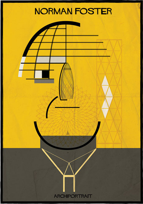 Norman Foster Archiportrait by Federico Babina