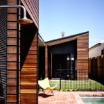 Wolveridge Architects adds timber-clad extension to Northcote Residence