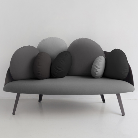 Nubilo sofa by Cons