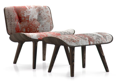 Nut-Lounge-Chair-Oil-with-Footstool-Oil-by-Marcel-Wanders-for-Moooi