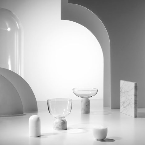 On the Rock vessels by Lee Broom<br /> to launch at Milan dinner party