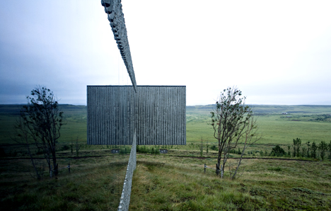PK Arkitektar competition on Dezeen