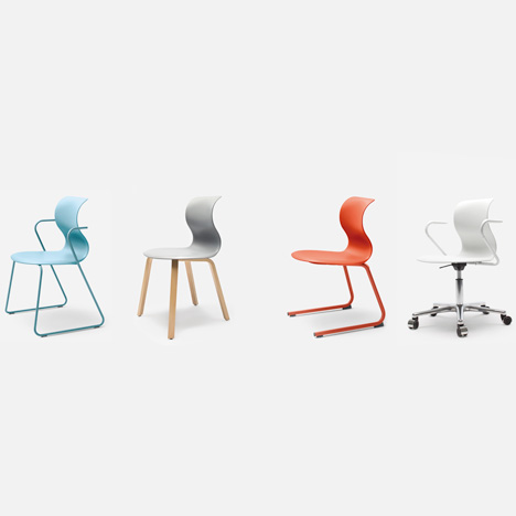 Pro Chair Family by Konstantin Grcic