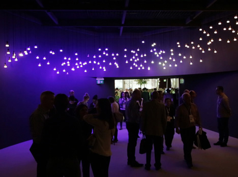 Philips' stand at Light + Building 2014