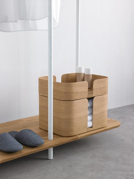 Enjoyable Note Design Studio Creates Plateau Storage Unit To Keep The Hall  Tidy Free Home Designs