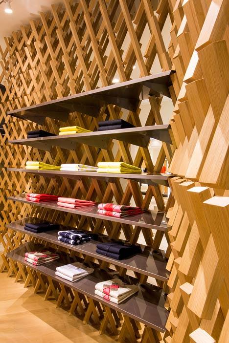 Pringle of Scotland store in Chengdu by Atelier Oi